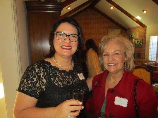 Diana Rae and Cindy Dore