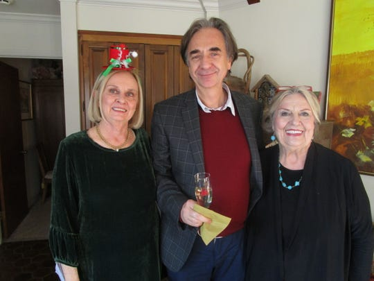 David Bennett, Mariusz Smolij and Sally Burdette