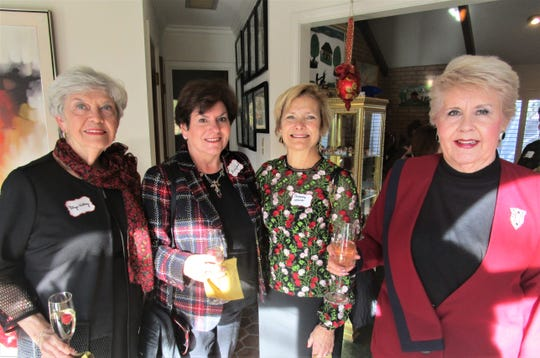 Glyn Kelley, Barbara Girard, Babette Werner and Estella Brewer