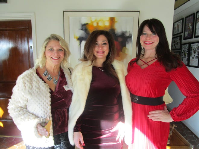 Laura Kiburz , Millicent Mathews and Amy Ohlenforst