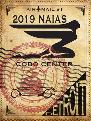 """Howell High School student Kellen Walburn's poster for the 2019 North American International Auto Show won the """"Best Theme"""" award and a $250 cash prize. The show takes place from Jan. 19-27 at the Cobo Center in Detroit."""
