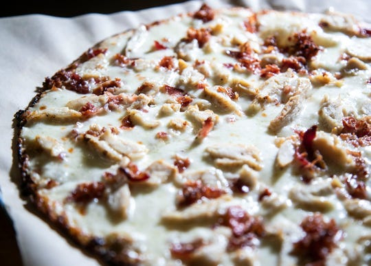 The Chicken, bacon ranch pizza from Topp't.