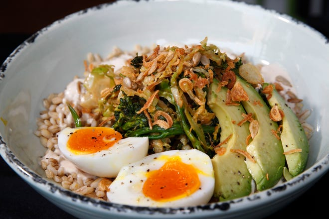 The Green Goddess bowl, with grains, avocado and egg, is an example of the healthier fare sold at Bowls restaurant in Walker's Point. Bowls is opening a second location in the Mequon Public Market at the Spur 16 development on Mequon Road. It's due to open by spring.