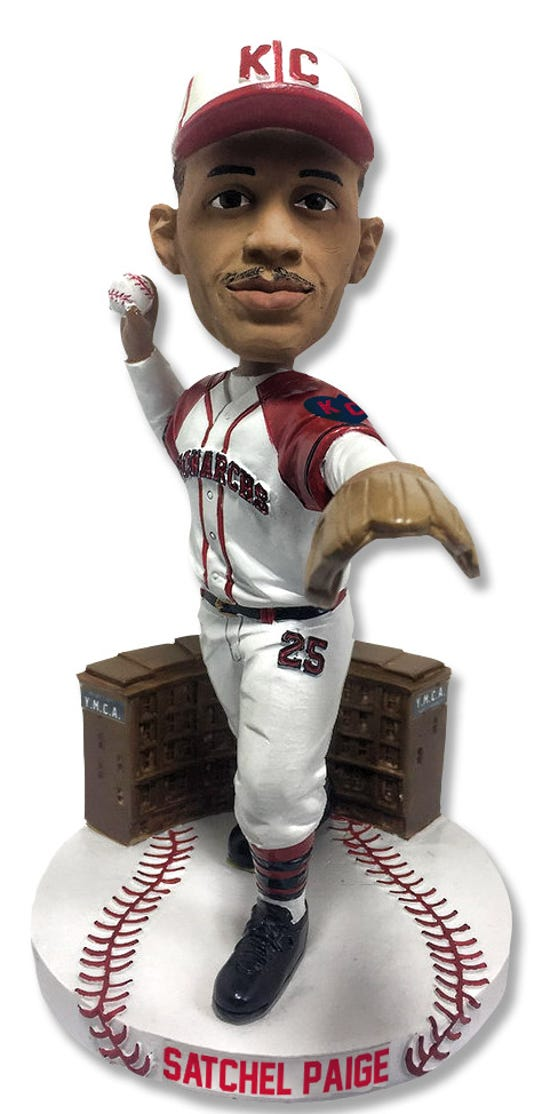 Satchel Paige Negro League Centennial Series Bobblehead