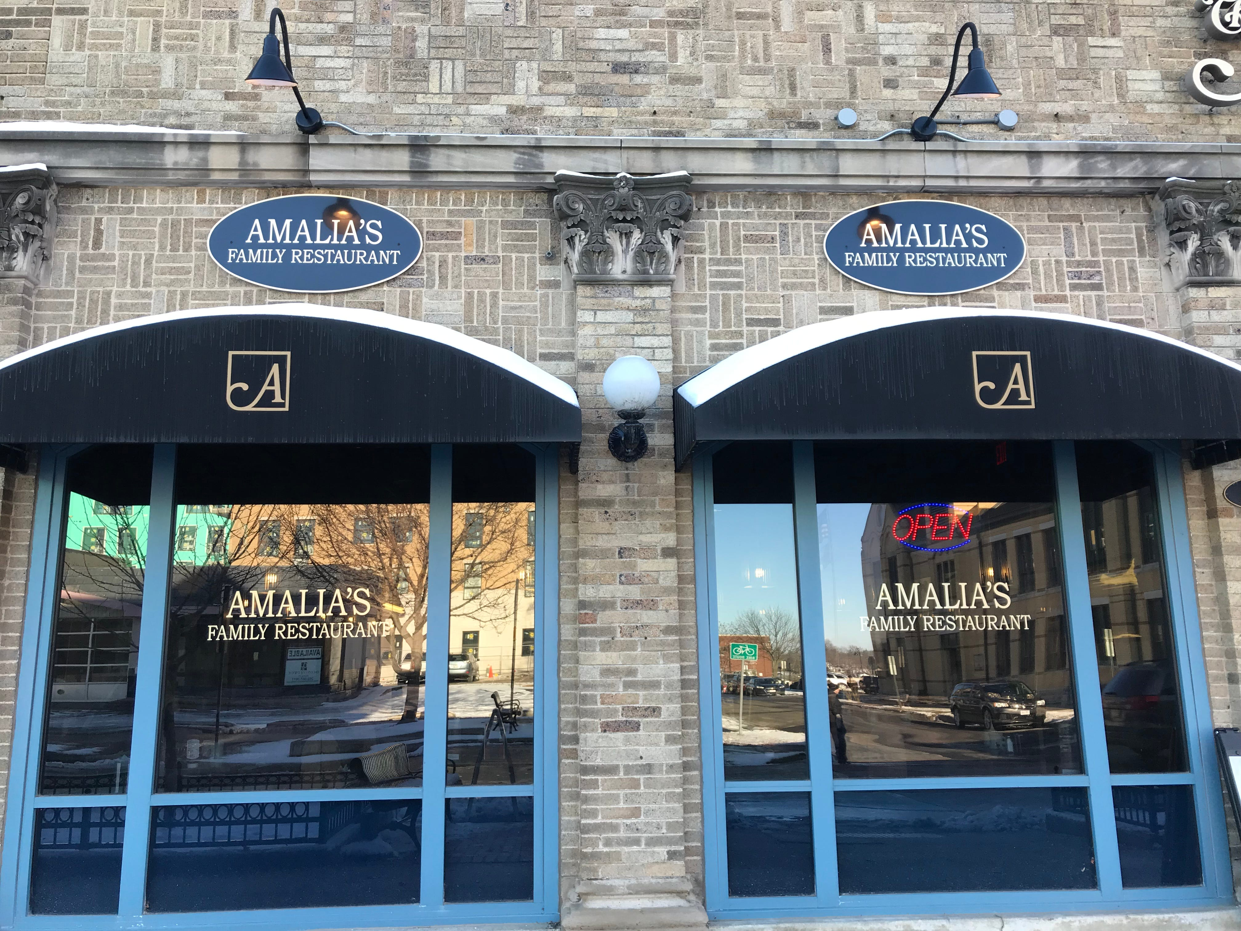 Amalia's Family Restaurant is in Avenue Square and opened in 2005.