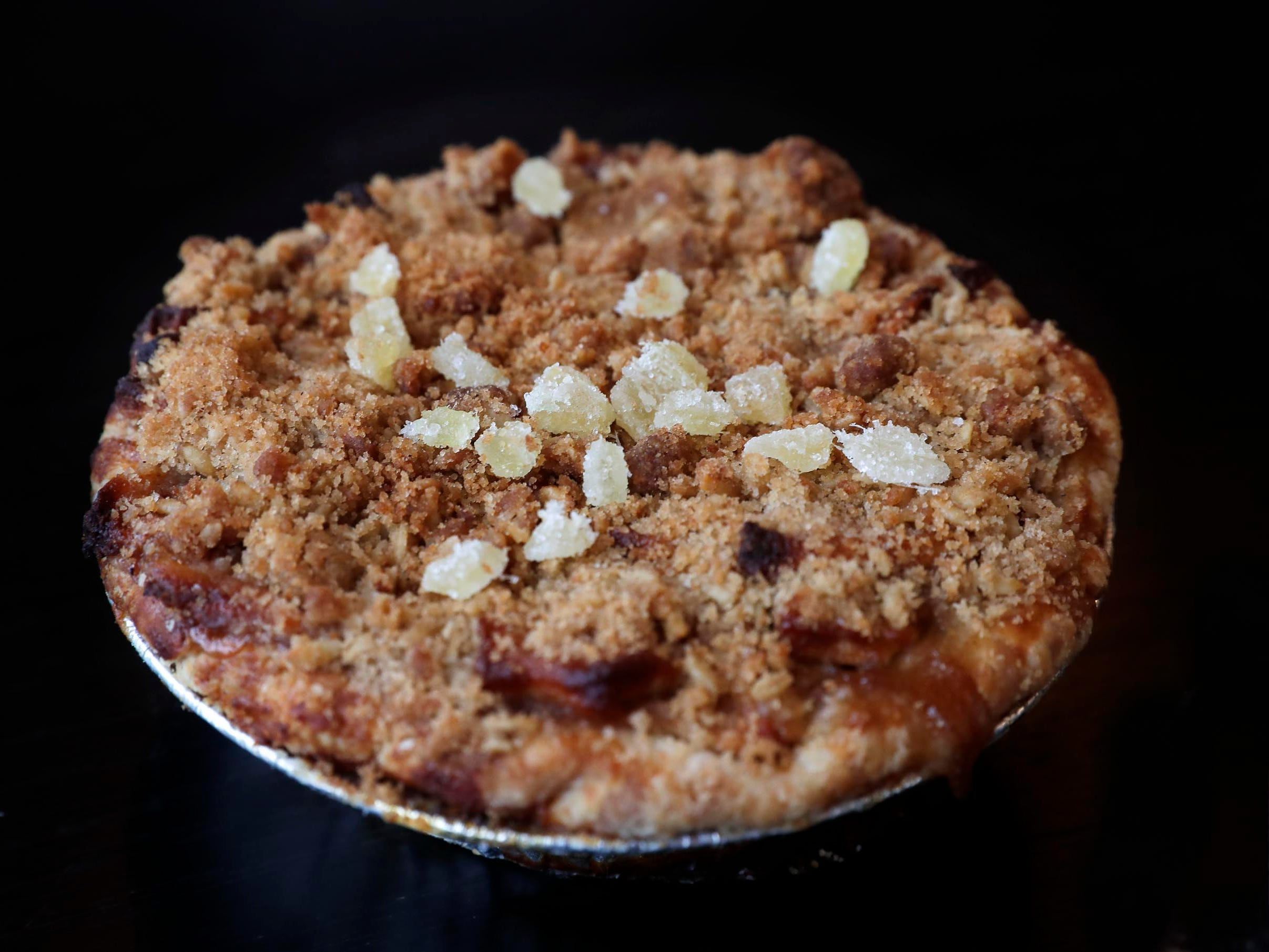 Apple ginger pie is among the sweeter offerings at  SmallPie.