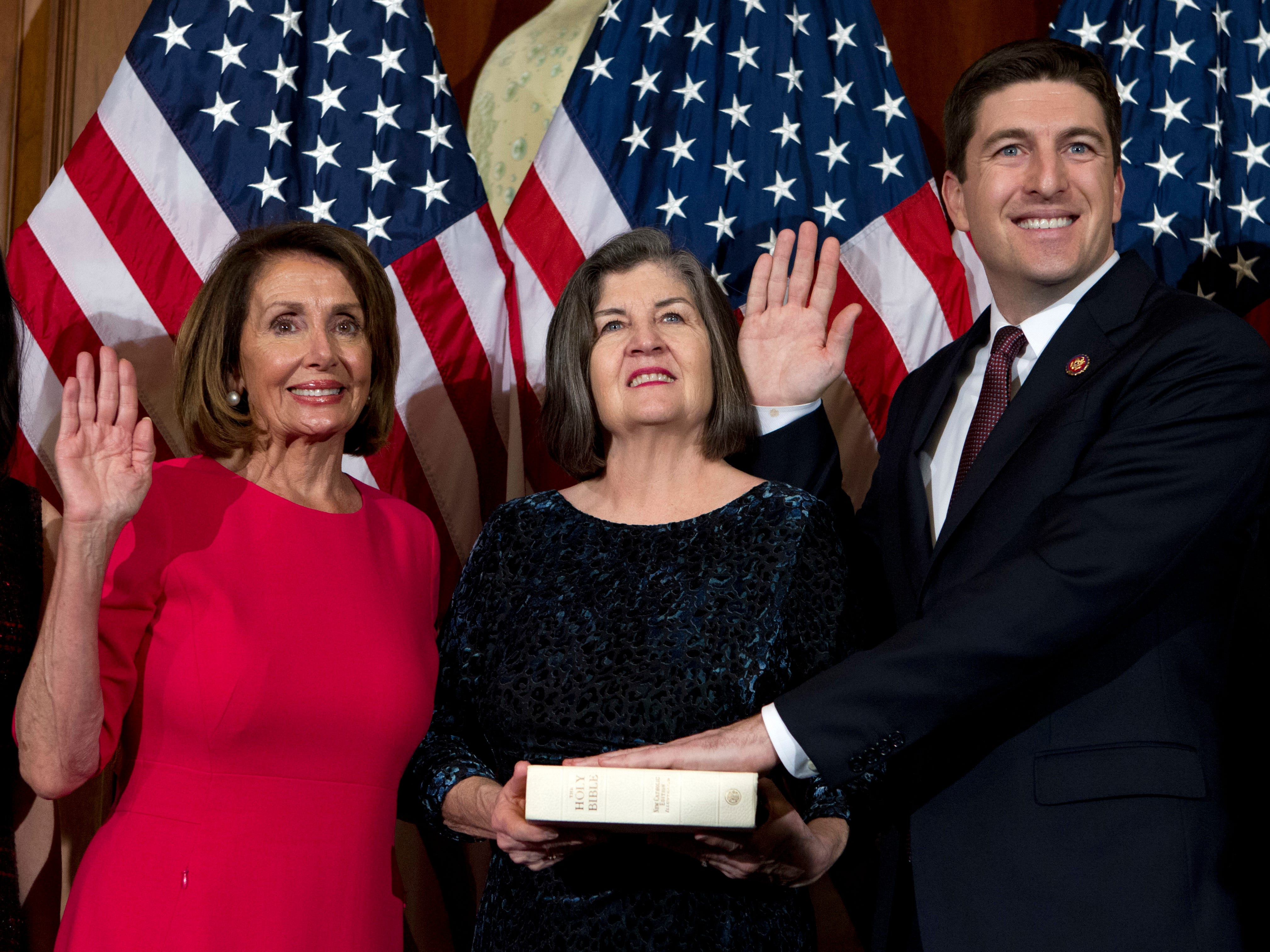 Bryan Steil, Wisconsin's newest member of Congress, takes office amid government shutdown