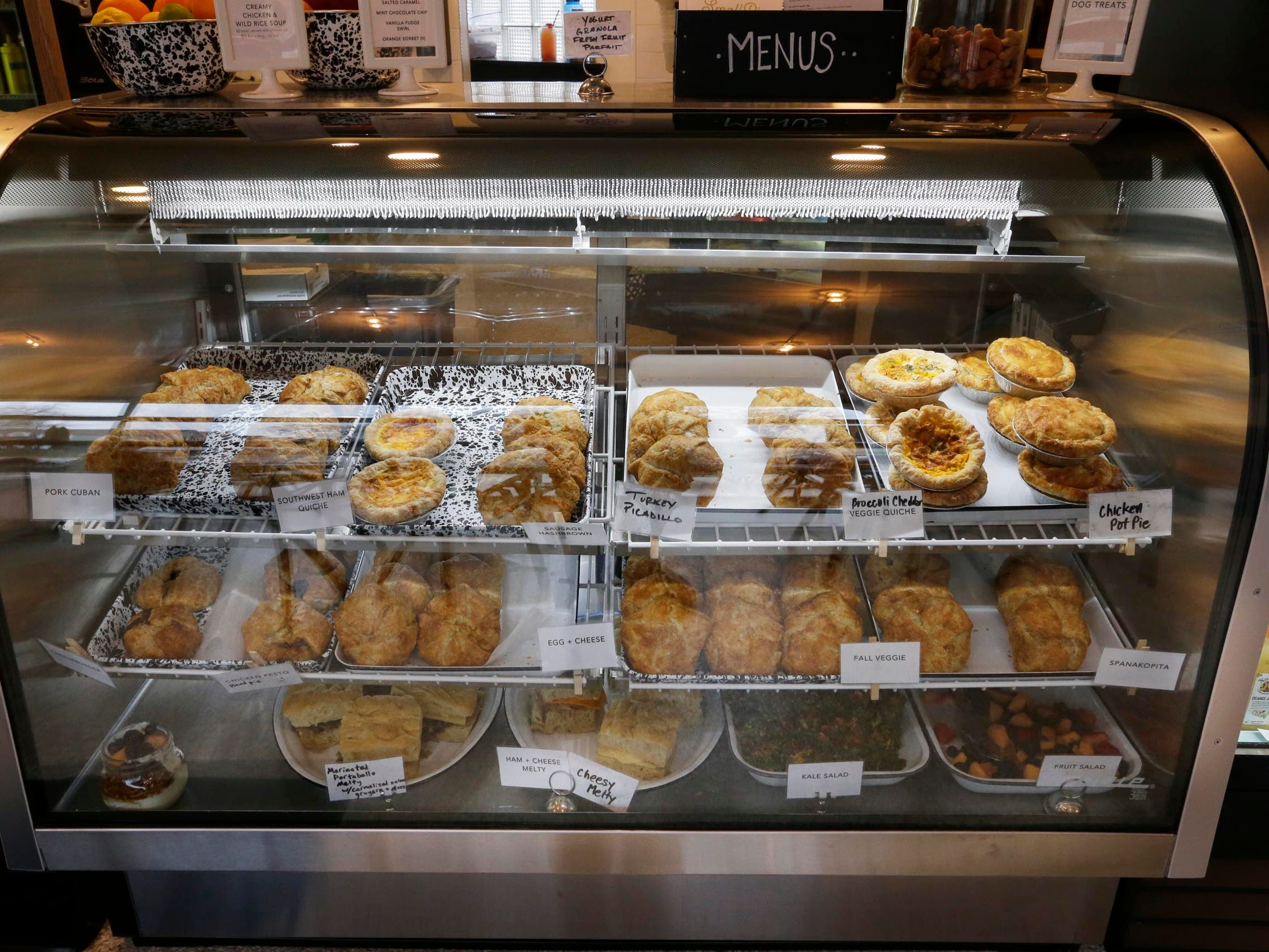 Savory Hand Pies, Sweet Hand Pies and a bakeshop with treats made from scratch are featured at  SmallPie.