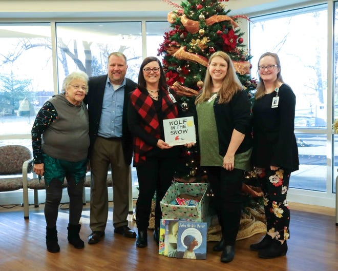 Robertson County Schools librarians donated books to NorthCrest Medical Center last month. The donation was meant to bring joy to children who have to be hospitalized during the holiday season.