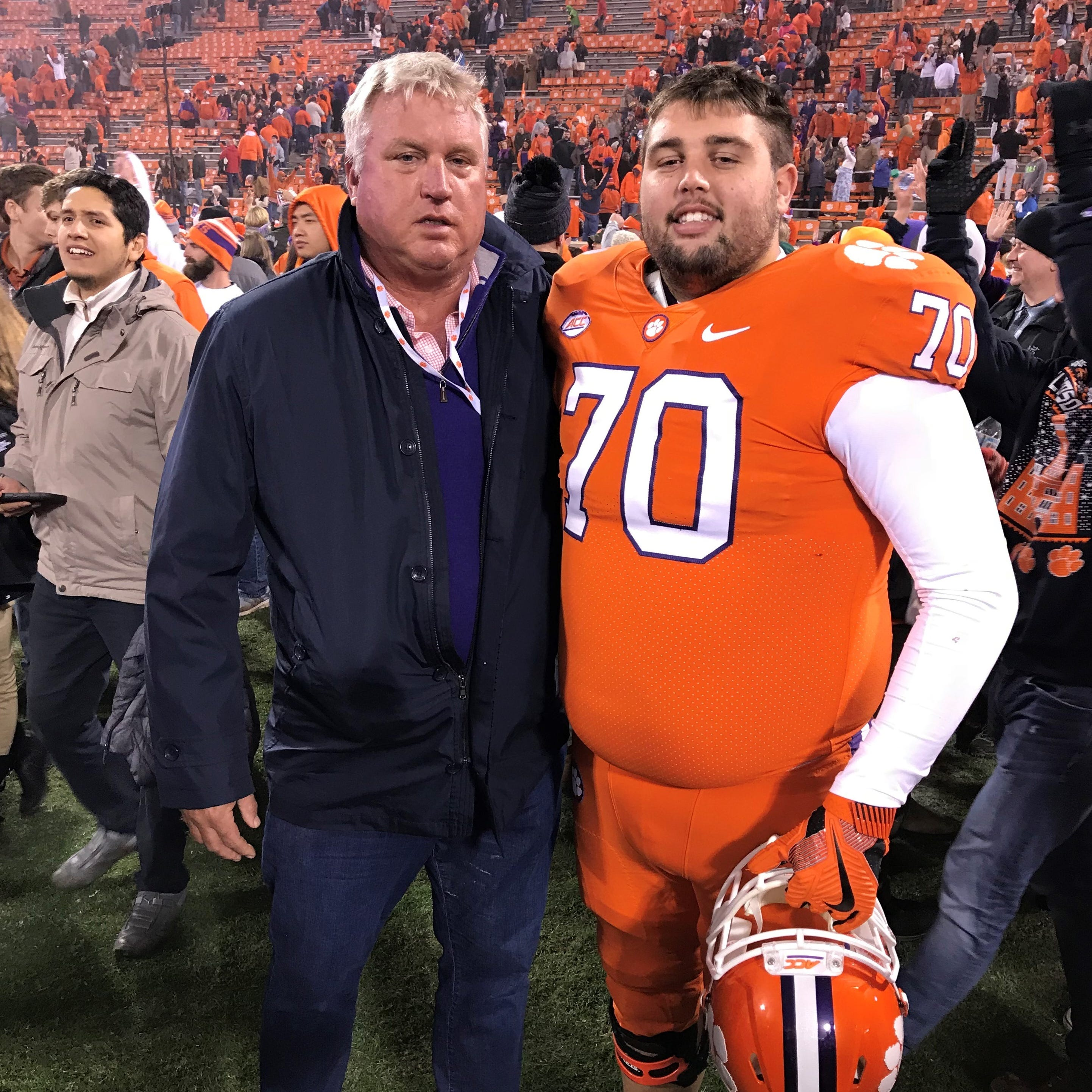 College football: FBA grad Penner goes for second title with Clemson before walking away