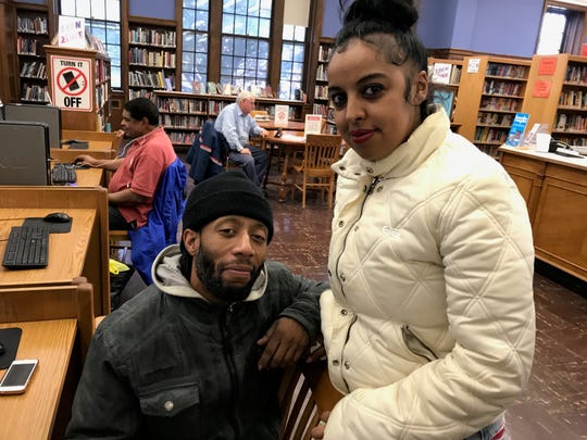 Jamod Clark and his wife Malena Polanco are split over whether Passaic's City Council deserved the sarlary increase the council voted itself last month.