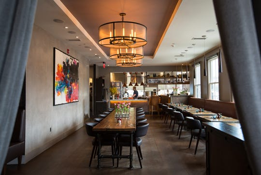 Common Lot, the fine-dine restaurant in Millburn, has an open kitchen