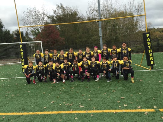 The Wayne Boys & Girls Panthers Pee Wee team won its second straight Morris County Youth Football League title.