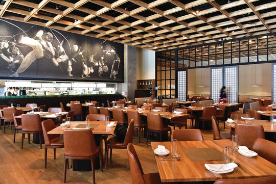 Gayeon Restaurant, interior, in Fort Lee features an open kitchen