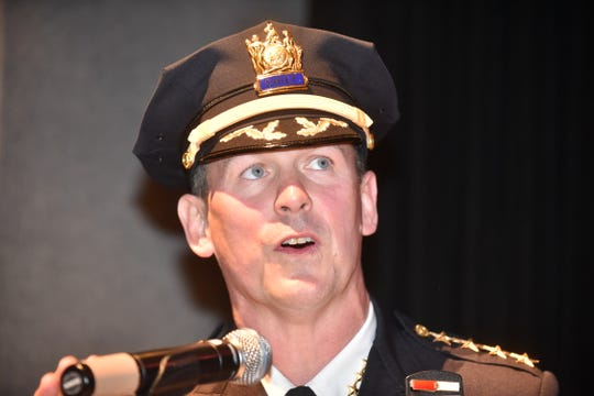 Paterson police chief Troy Oswald is one of the defendants in the lawsuit filed by the family of Xavier Cuevas-Soto.
