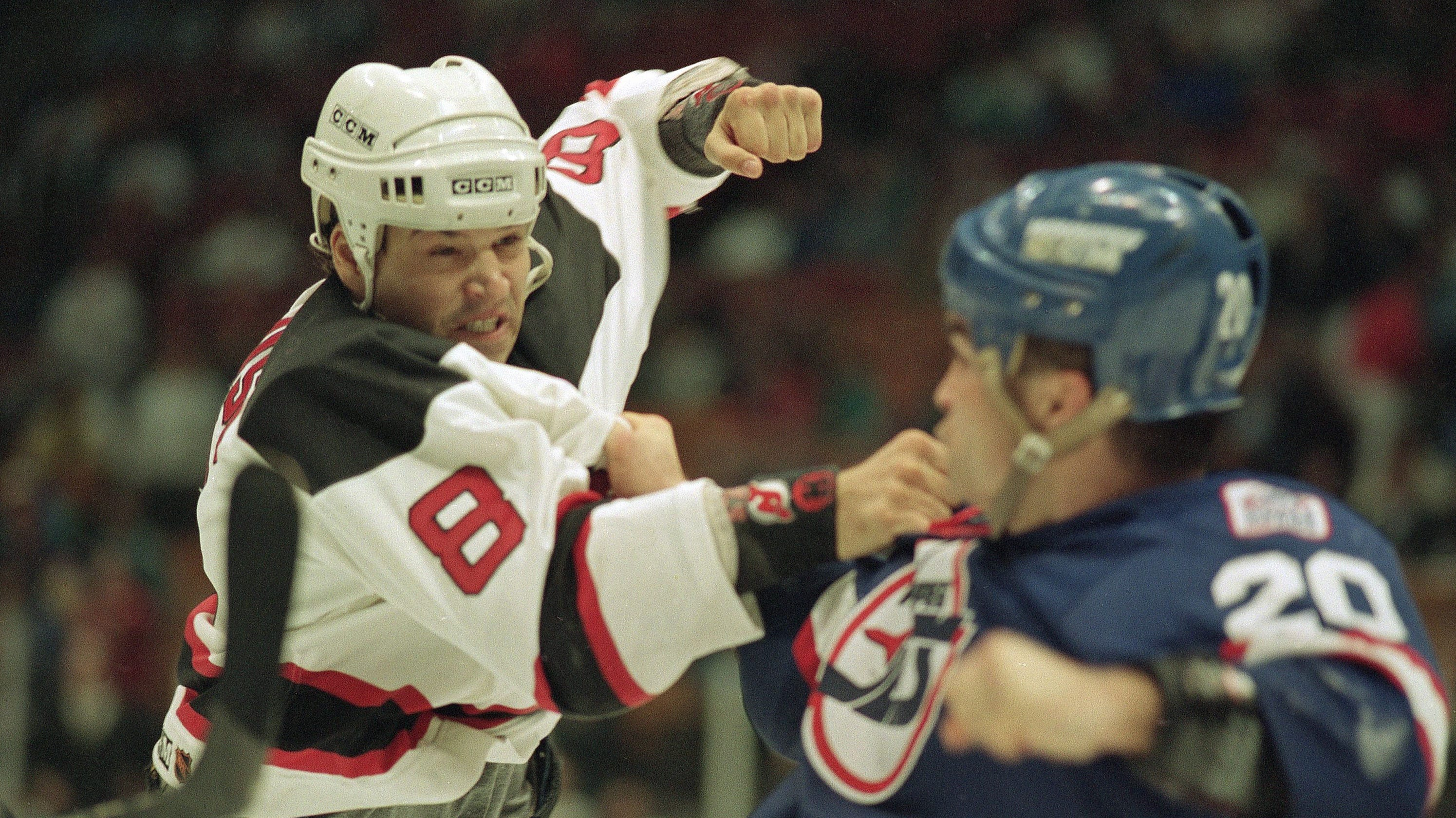Former NJ Devils enforcer Mike Peluso sues team 9cbccfdef