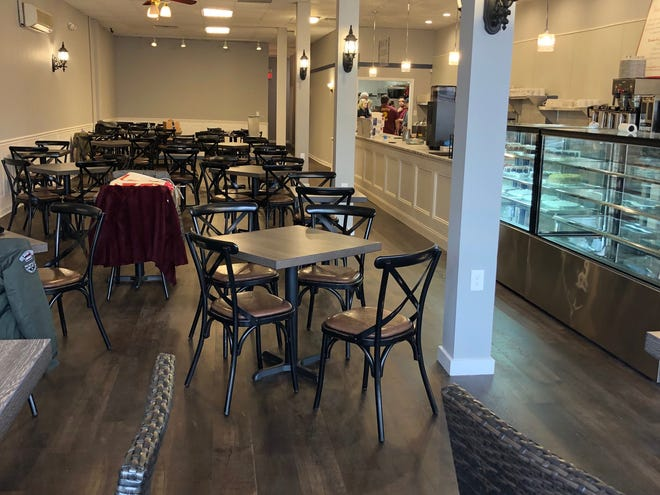 Mara's Cafe & Bakery received a complete interior renovation.