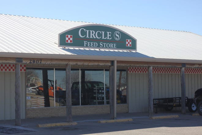 The Circle S Feed Store is open for business, Jan. 4, 2019 near the South Y highway junction in southern Carlsbad. The store could be facing condemnation as a project to remediate a nearby brine well is planned to start in February.