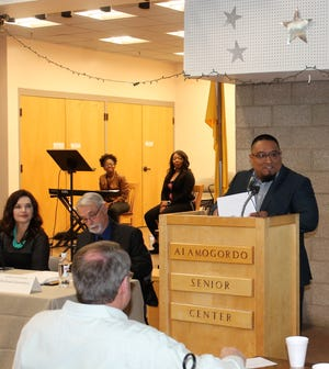 Mountain View Assembly of God Pastor Anthony Torres was the guest speaker at the 40th annual Legislative Prayer Breakfast Friday.