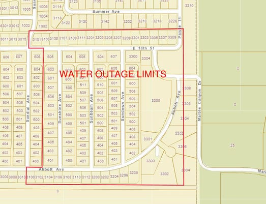Psa Scheduled Water Outage Map 01042019 Page 0