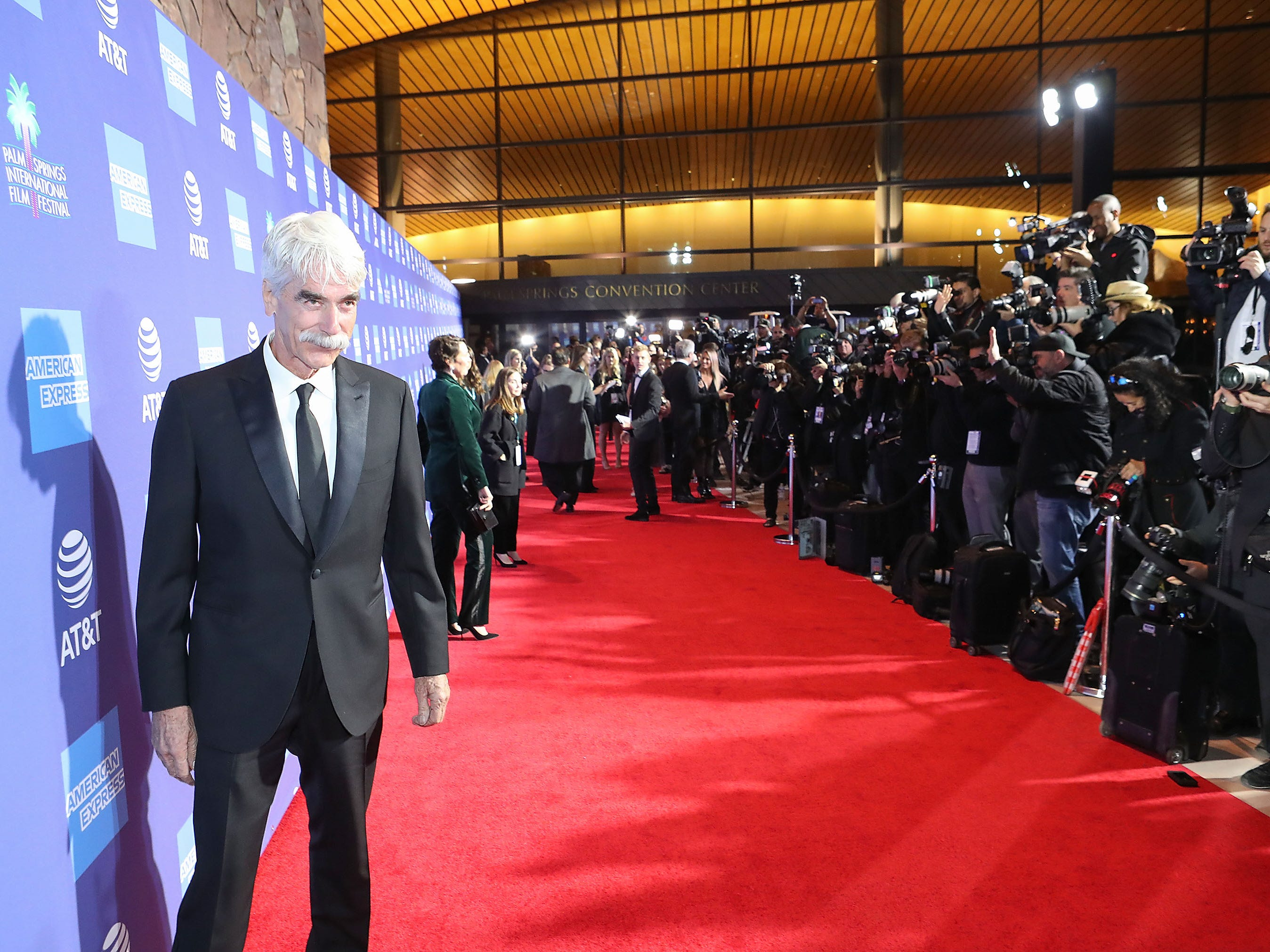 Sam Elliott at the Palm Springs International Film Festival Awards Gala, January 3, 2019.