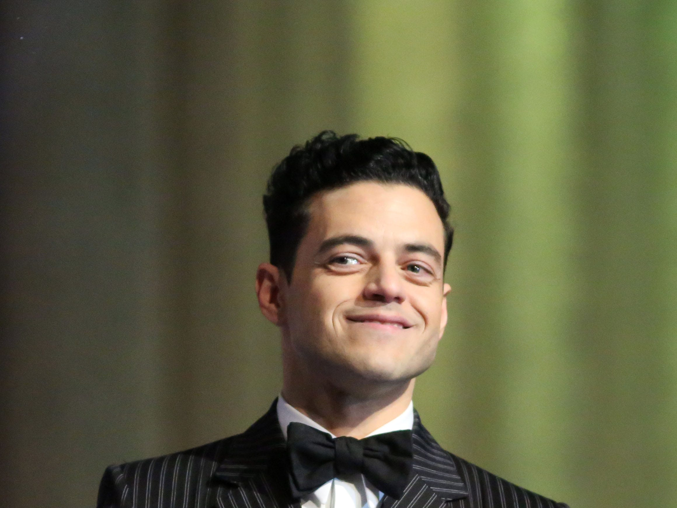 Rami Malek gets the Breakthrough Performance Award for Bohemian Rhapsody on Thursday, January 3, 2018 at the Palm Springs International Film Festival Gala in Palm Springs.