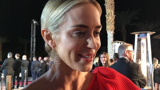 "Emily Blunt, star  of ""Mary Poppins Returns"""