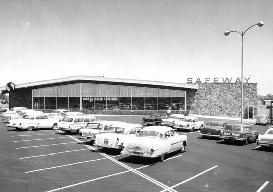 Safeway Market in Palm Springs 1955.