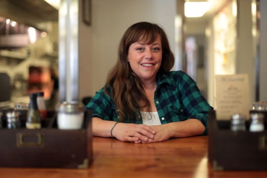 Gabbi Rose, a chef and artist and longtime friend and chef Wesley Barden are reopening The Sugarloaf Cafe after years of being vacant. The historic cafe is located along Highway 74 in Pinyon Pines. Photo taken on January 4, 2019 in Pinyon Pines
