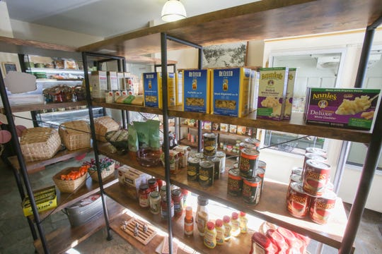 The Sugarloaf Cafe also includes a market. Photo taken on January 4, 2019 in Pinyon Pines