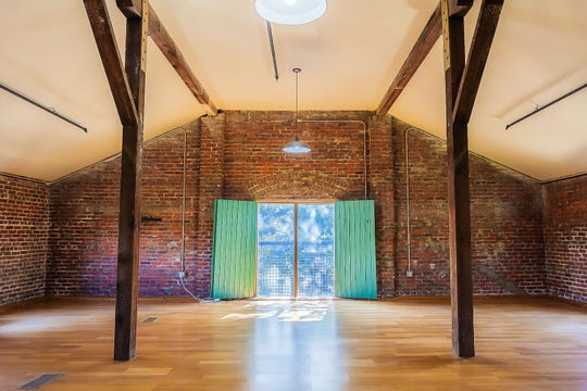 The upstairs studio space at Long Hollow Creatives, 700 N. Guillemard St. in Pensacola.