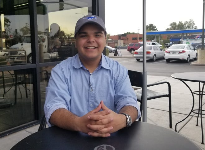 Jacob Martinez, 17, a teen activist in Mesa, is running for Mesa City Council.