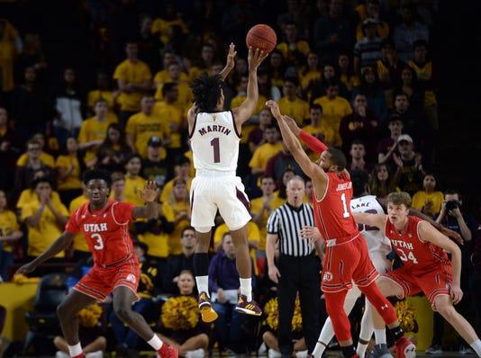 Ncaa Basketball Utah At Arizona State