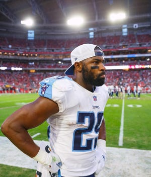 DeMarco Murray played seven NFL seasons for the Cowboys, Eagles and Titans, retiring after the 2017 season.