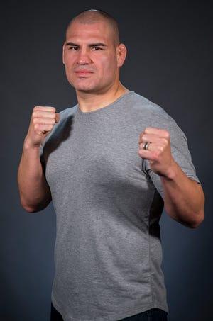 UFC fighter Cain Velasquez poses for a portrait on Thursday, Jan. 3, 2019, in Phoenix.