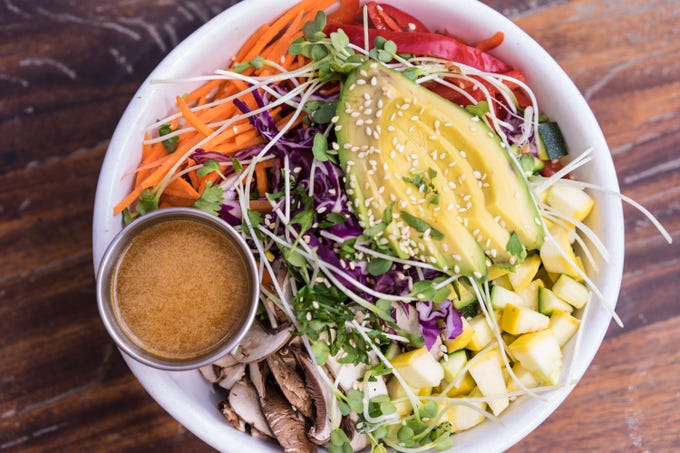 The rice bowl at Phoenix Public Market Cafe.