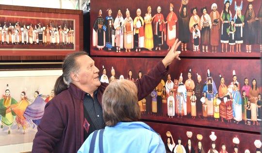The Gathering: Litchfield Park Native American Fine Arts Festival will feature work by Saginaw Chippewa painter Daniel Ramirez.