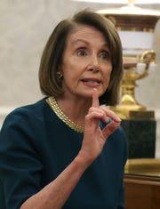 Nancy Pelosi, líder de la Cámara de Representantes.