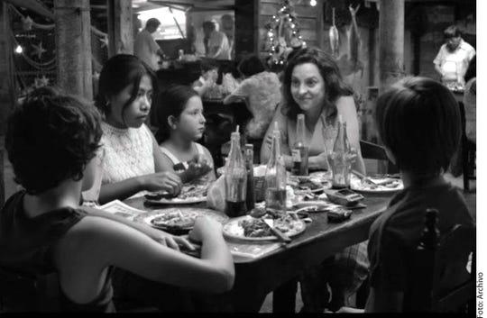 Imágenes de la película Roma.