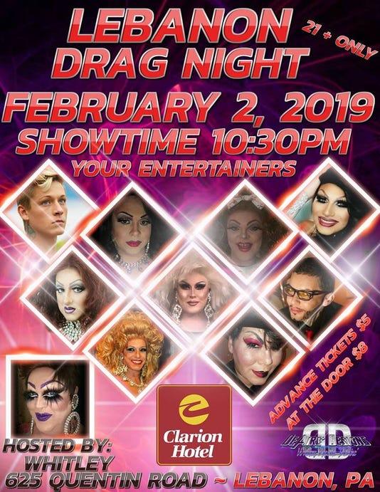Drag Night Poster