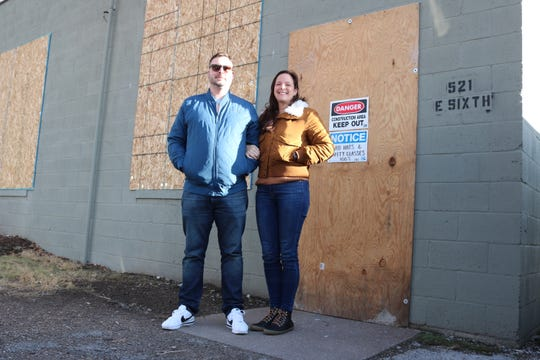 Gabe Zeller, along with his wife, Julie Mesenburg, are opening the Lago Coastal Cafe at 521 E. 6th St. in Lakeside this summer.