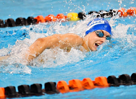 Spring Grove senior Orval Fissel is expected to compete in the 200 freestyleand the 500 freestyle at the York-Adams League Swimming Championships this weekend.