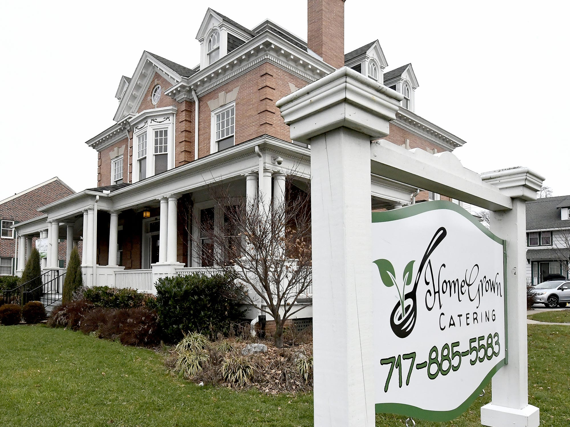 HomeGrown Restaurant is set in a Richland Avenue mansion Friday, Jan. 4, 2019. Owner Michael McMonigle is opening the restaurant Jan. 10. He operates a catering business from the location as well. Bill Kalina photo