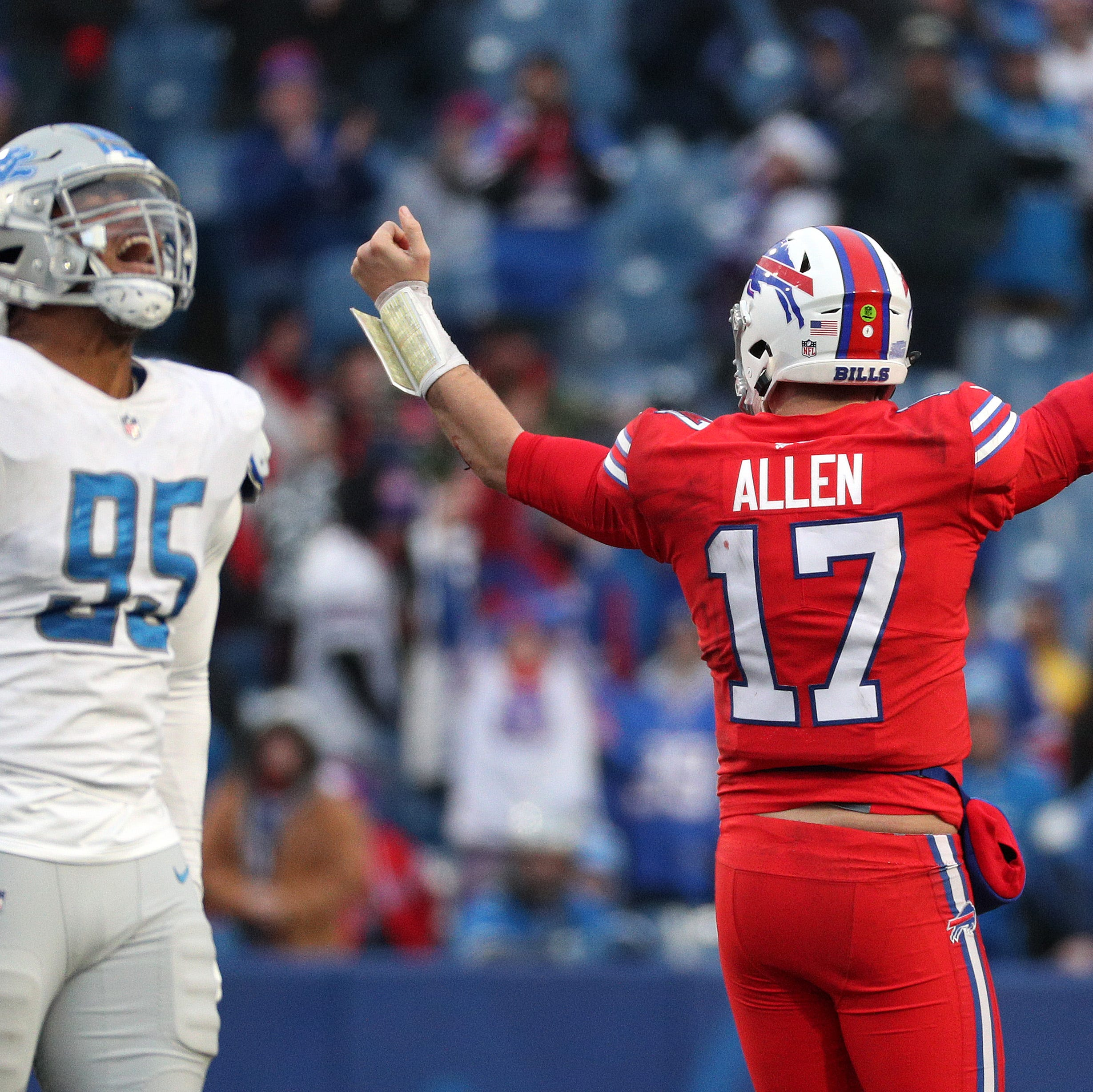 Josh Allen takes on new leadership role as Buffalo Bills begin voluntary workouts