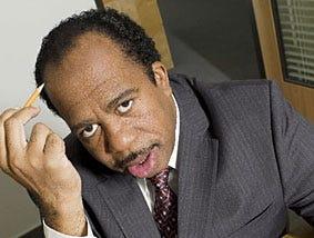 Leslie David Baker, as Stanley Hudson on NBC's The Office.