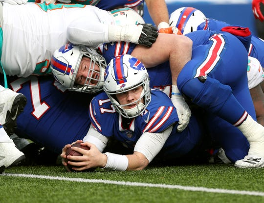 The Bills have made big strides this week in building their offense around quarterback Josh Allen.