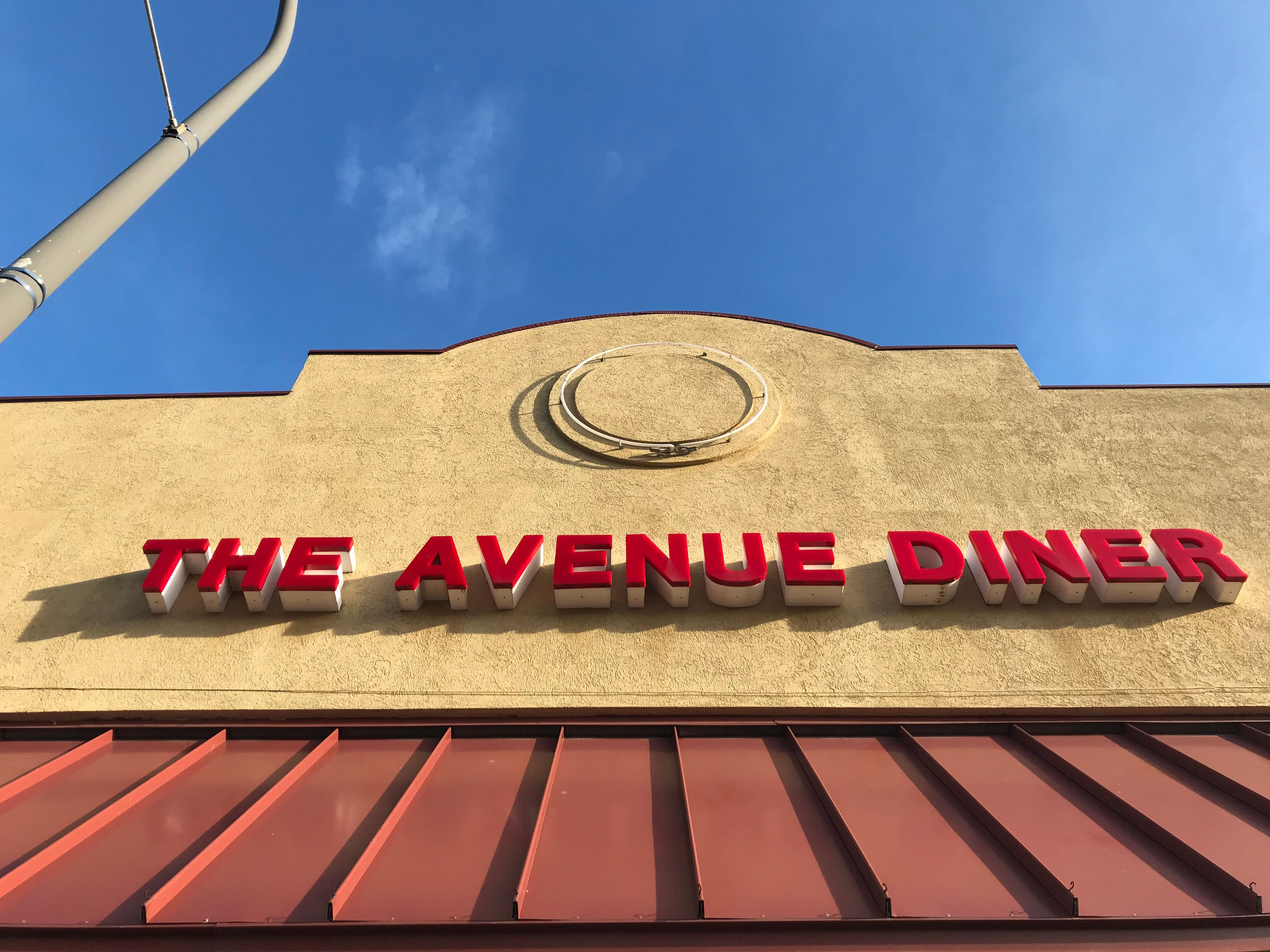 The Avenue Diner has closed.