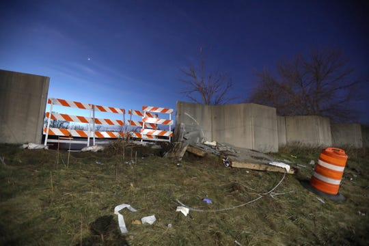 Monroe County Sheriff's deputies say the driver, Jordin Campbell, 22, of Rochester, was traveling southbound on Clay Road when he failed to negotiate a curve, went off the road and struck a concrete barrier.