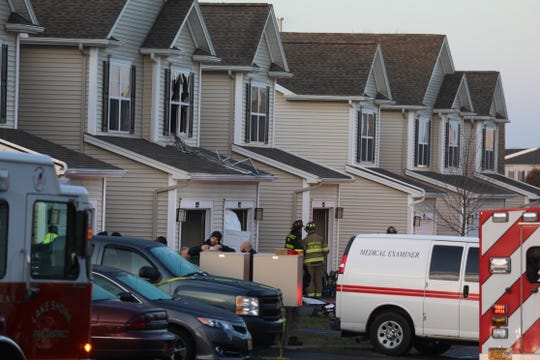 A woman was found dead inside a burning apartment on Pond View Heights in Greece on January 4, 2019.