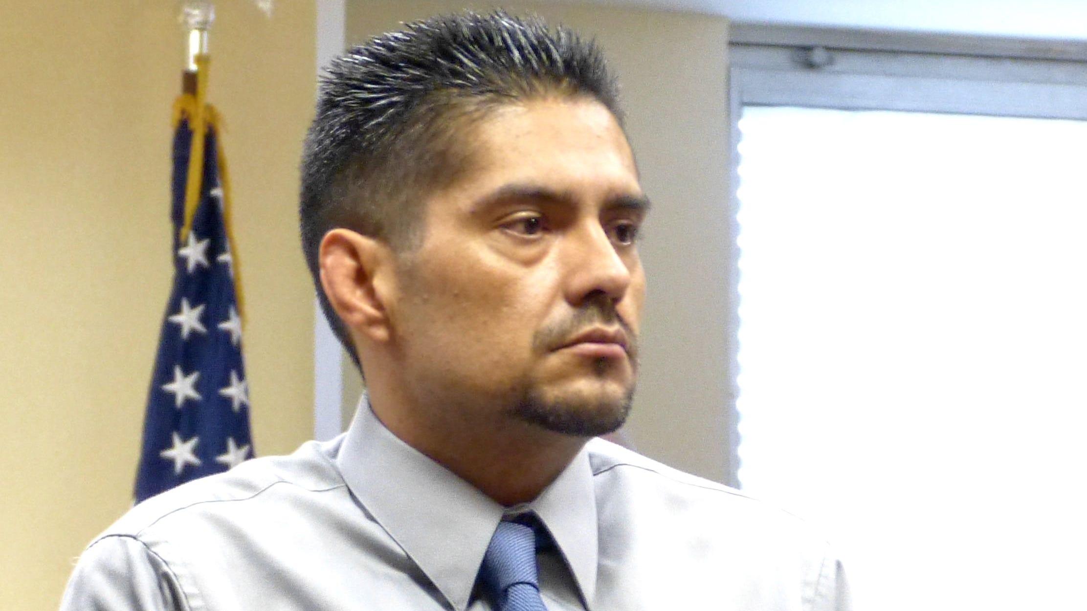 Juan Venegas appears in court in June 2017.